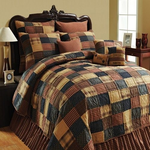 Clearance - Lasting Impressions Patriotic Patch California King Quilt