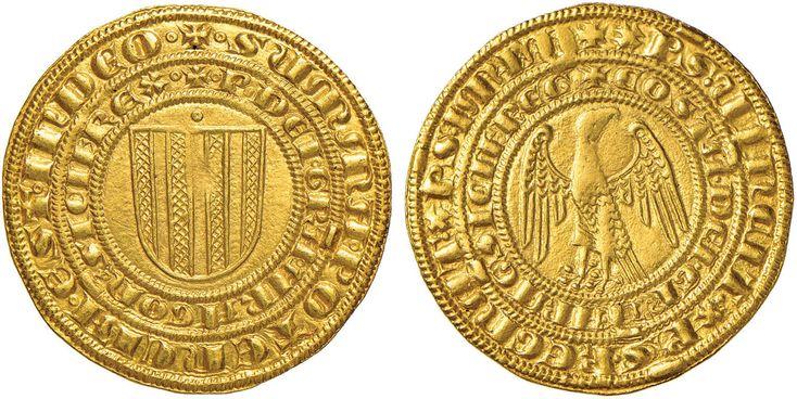 NumisBids: Nomisma Spa Auction 50, Lot 127 : MESSINA Pietro III d'Aragona e Costanza (1282-1285) Pierreale –...