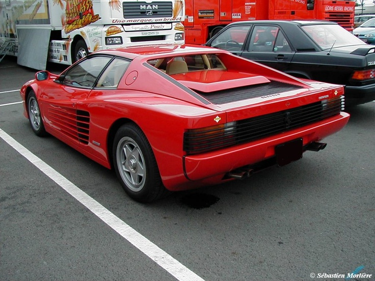 76 best images about Ferrari Testarossa on Pinterest  Cars A