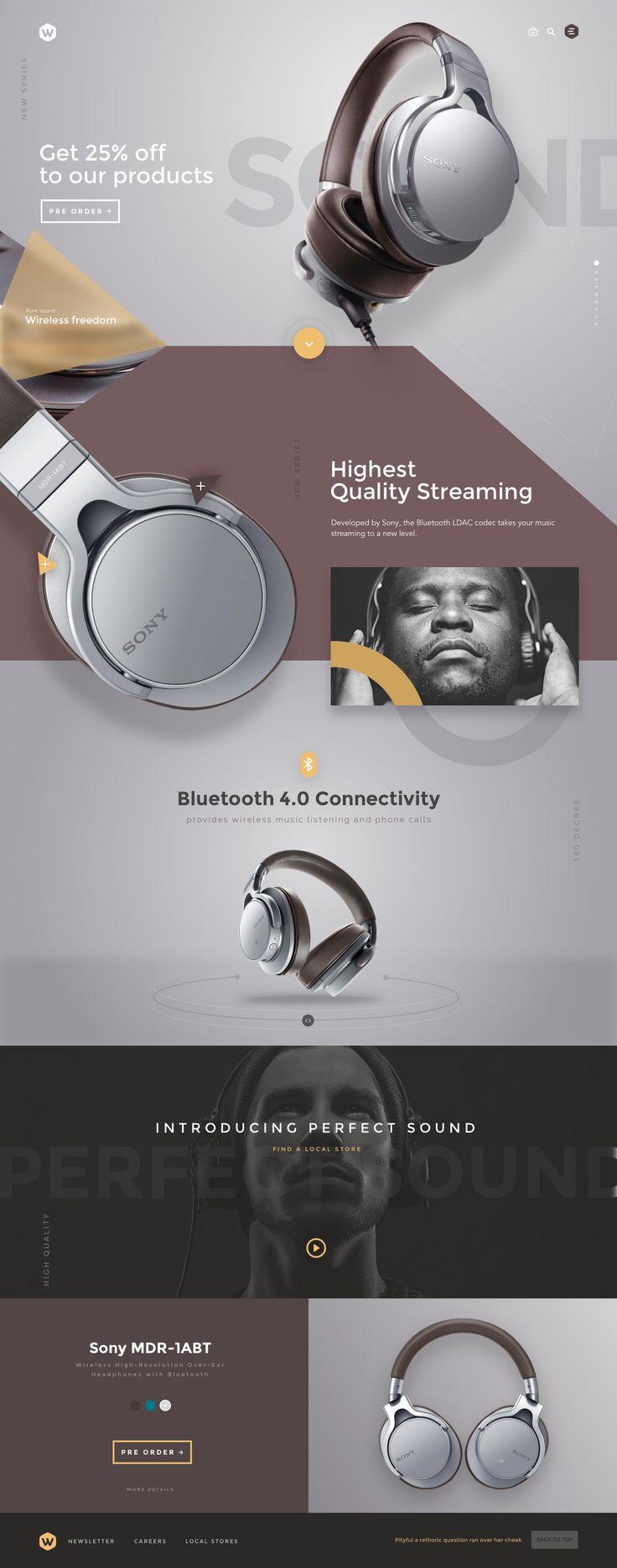 Headphones by Sencer on