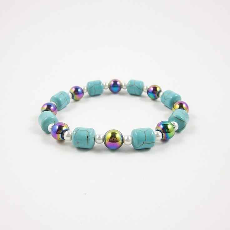 Cheap Strand Bracelets, Buy Directly from China Suppliers:Arc-en-ciel hématite …