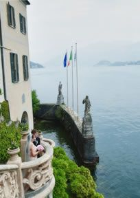 elegant villas, flowering gardens and parks, for a romantic wedding destination place in Italy http://www.weddingsinitalybybw.com/lakes-with-love/wedding-lake-como.php