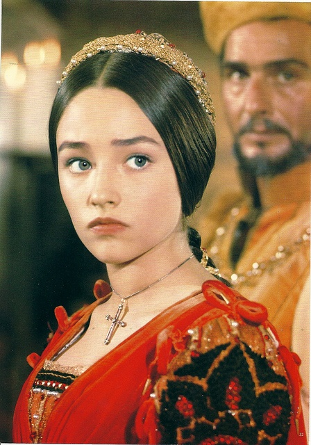 Romeo and Juliet 1968 - most beautiful film ever made. Most beautiful Juliet, too!