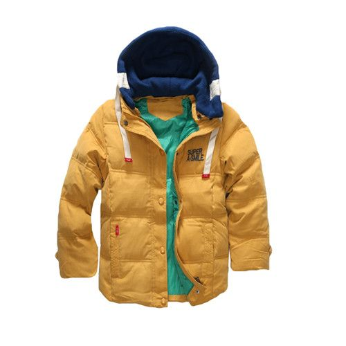 Boys Blue winter coats  Jacket kids Zipper jackets Boys thick Winter jacket high quality Boy Winter Coat kids clothes Like and share! Get it here