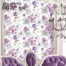 nueva simplemente pintada a mano moderna de flores de papel tapiz para paredes d relieves