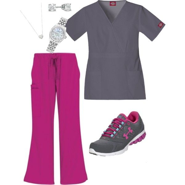 """""""scrub style"""" by hope-0804 on Polyvore"""