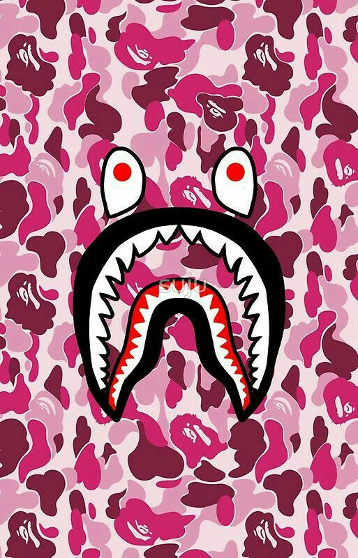 37 best supreme bape images on pinterest caviar iphone backgrounds and background images - Camo shark wallpaper ...
