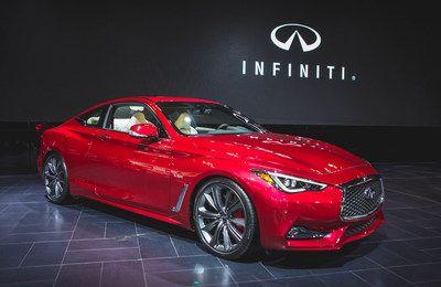 Infiniti Canada a aujourd'hui devoilé la toute nouvelle Infiniti coupé Q60 2017 au Salon international de l''Auto du Canada à Toronto. Pour accéder d''autres  photos veuillez visiter InfinitiNews.com. (Groupe CNW/Infiniti)