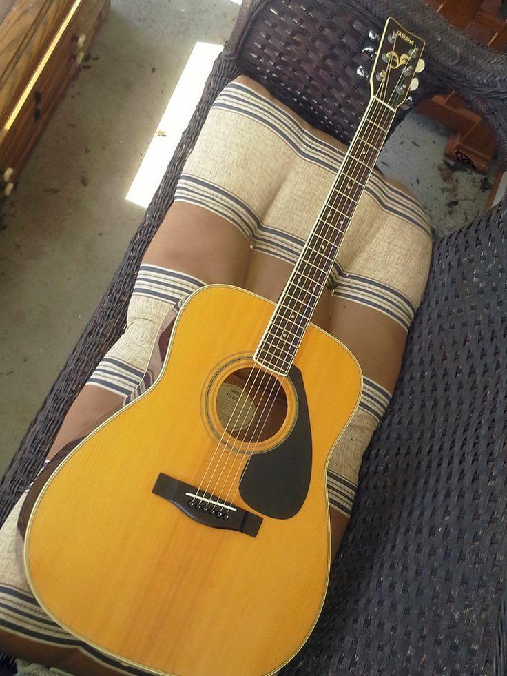1992 yamaha fg 430a vintage acoustic guitar fg 430 a for Yamaha acoustic guitar ebay