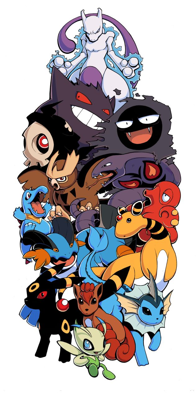 Pokemon Sleeve 8 by H0lyhandgrenade.deviantart.com on @DeviantArt