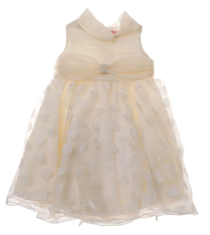Παιδικά ρούχα AZshop.gr - Butterfly Wings αμπιγιέ φόρεμα «Glam Hearts» €45,00