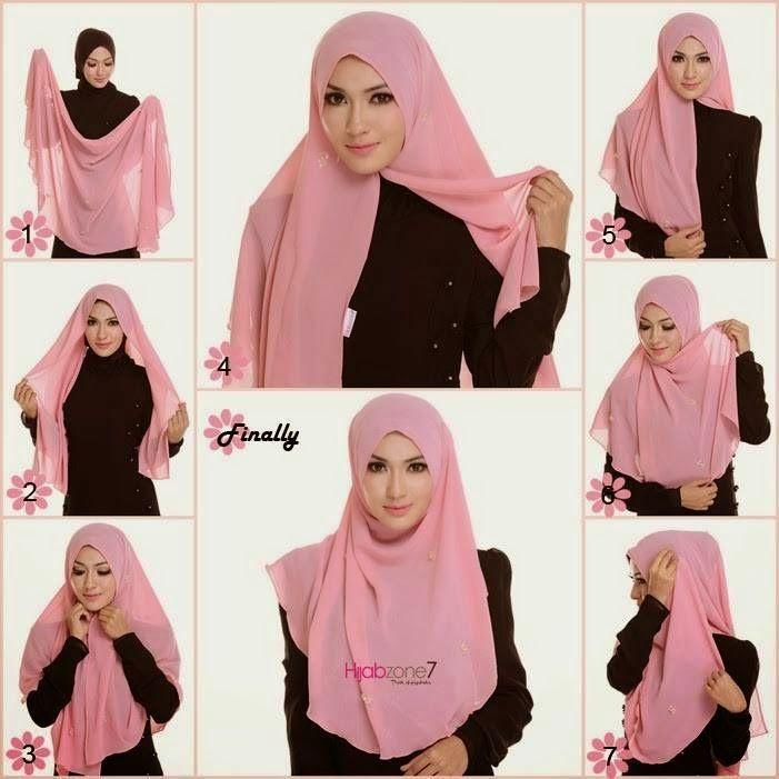 HIJAB FASHION INSPIRATION : Easy Gorgeous Hijab Tutorial