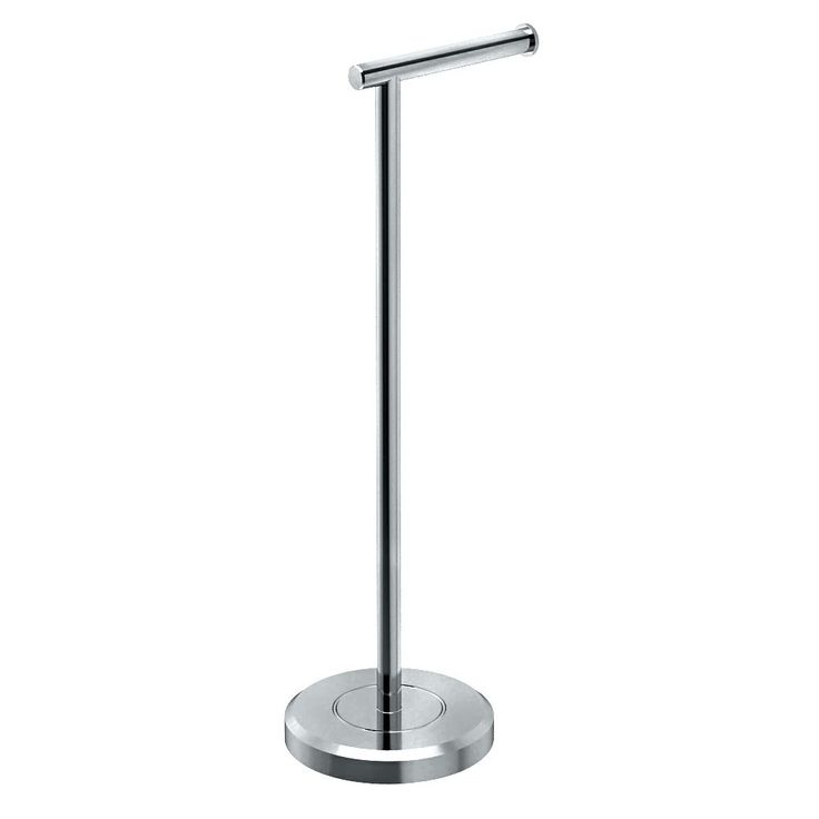 Gacto 1437C Latitude II Standing Tissue Holder, Chrome - Toilet Paper Stand - Amazon.com