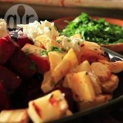 Warm Roasted Root Vegetable Salad @ allrecipes.com.au