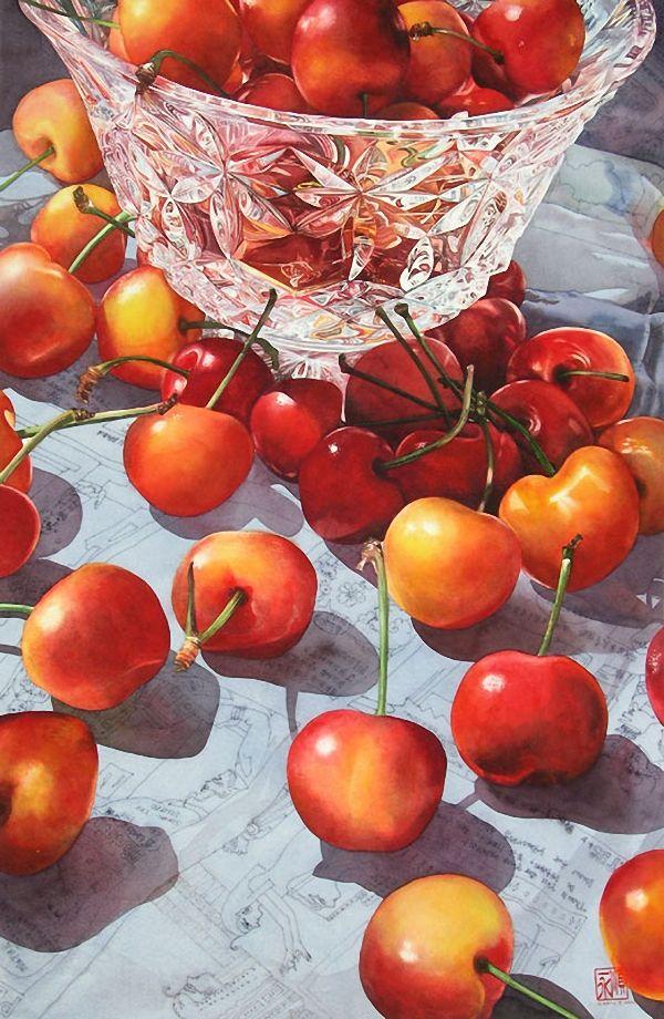 Watercolors by Artist Soon Y. Warren Paintings