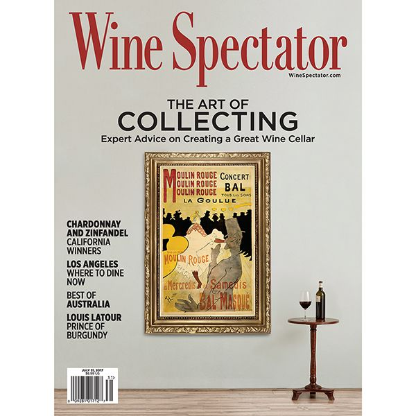 Wine Spectator's July 31 wine collecting issue is perfect for all levels of wine lovers, including features on what to buy, how to design and build a collection, and much more. Plus, our three tasting reports cover California Chardonnay and Zinfandel, and Australian reds and whites.