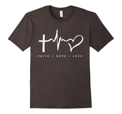 Faith Hope Love Shirt - Gift For A Christian God Fan Shirt >> Keyword…
