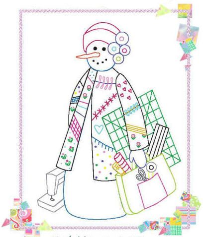 Off to Quilt Class-