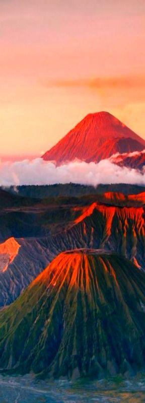 Mount/Gunung Bromo, Bromo Tengger Semeru National Park, East Java, Indonesia LiberatingDivineConsciousness.com