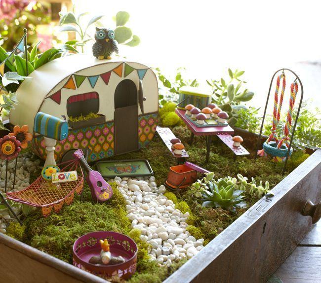 Box Fairy Gardens