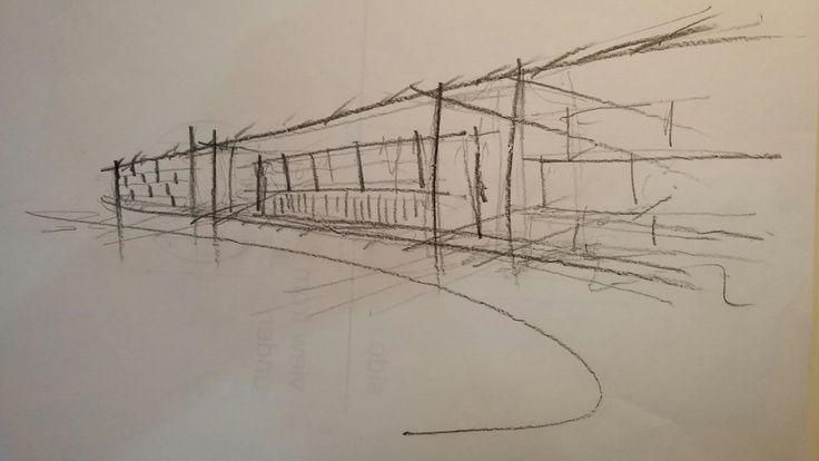 Rex Trueform conceptual sketches #architecture #designstudio #commercial #frankbohmstudio