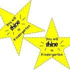 This is an easy open house gift to give to your kiddos.  Simply print, cut out the stars, and tape them to glow stick. I give these to my students ...
