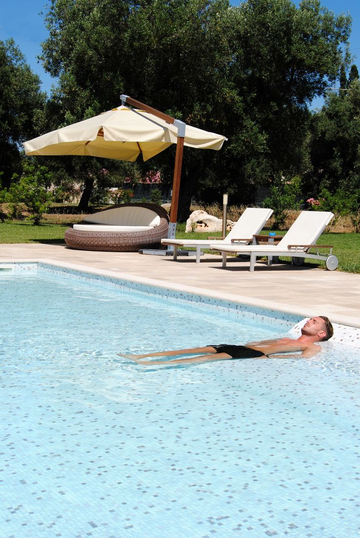 Relaxing Time!!  http://masseriacordadilana.it/  #relax #pool #masseriacordadilana