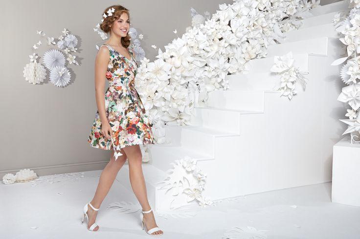 LAONA Scuba Print Dress *Dieses Scuba-Kleid von LAONA sorgt mit auffälligem Blumen-Print für echte Frühlingsgefühle*