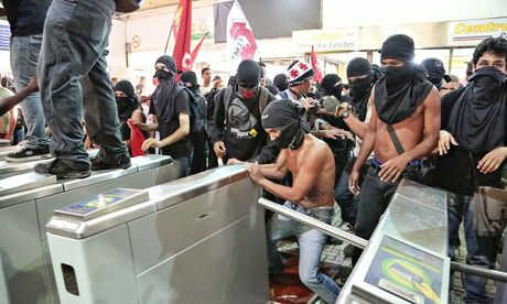 Brazil's government has set the favelas and middle classes against each other A year of frustrated protest against an intransigent government has released a wave of pent-up inter-community violence