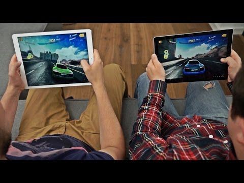 iPad Pro vs Surface Pro 4 #colepsze #5 - YouTube