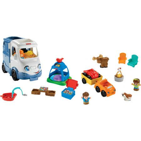 Fisher-Price Little People Songs & Sounds Camper Gift Set