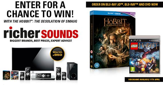 Win a Panasonic Home Cinema System with Richer Sounds - Panasonic 47″ 3D LED TV and 5.1 Blu-Ray Surround Sound system. #win http://www.crazycompers.co.uk/win-electronics/richer-sounds-home-cinema-competition/
