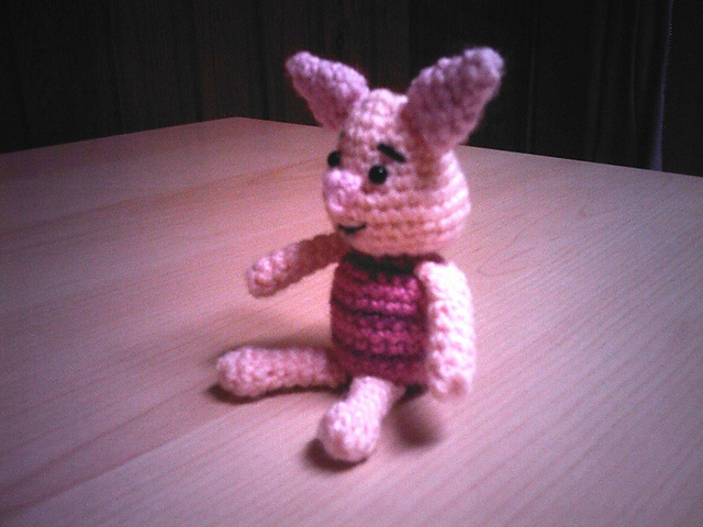 Piglet Amigurumi Free Pattern : 29 best eeyore images on pinterest knit crochet pooh bear and
