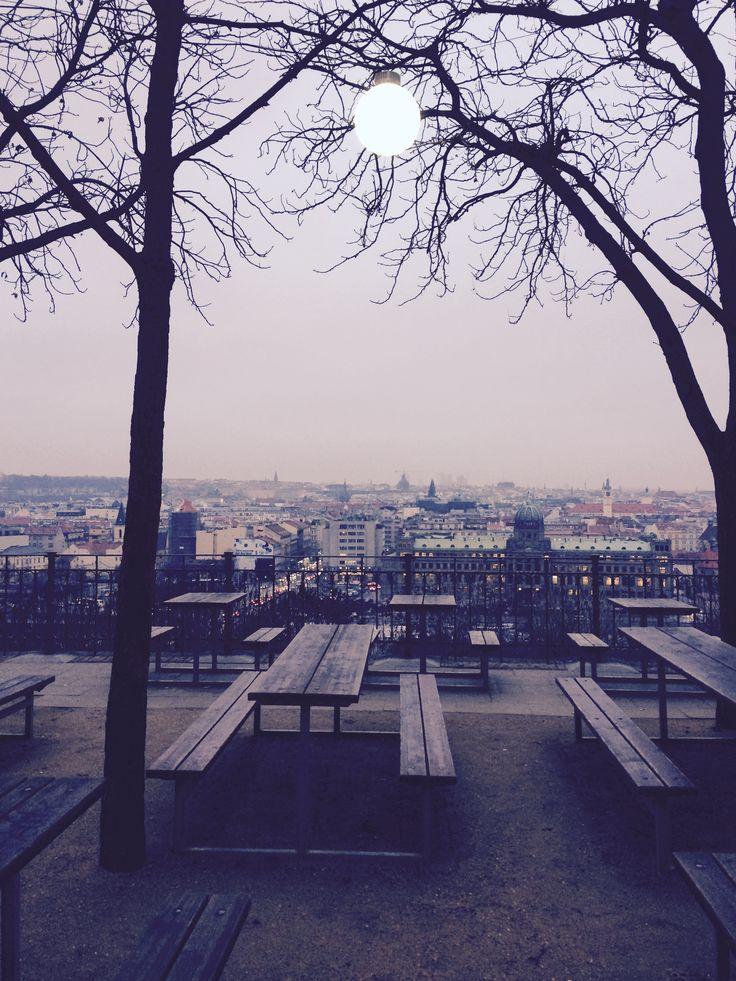 Letná Praha / Winter