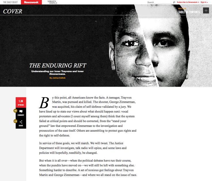 The Daily Beast Newsweek. Responsive editorial