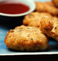Croquettes de poisson thaïes - Recettes de cuisine Ôdélices