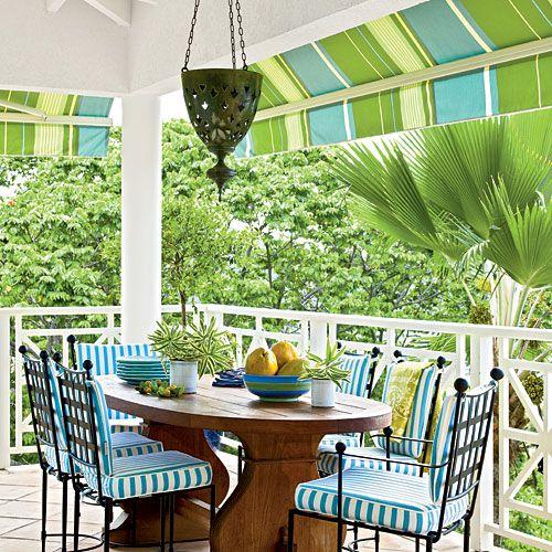 cheerful lines classic tropical island home decor coastal living - Island Home Decor