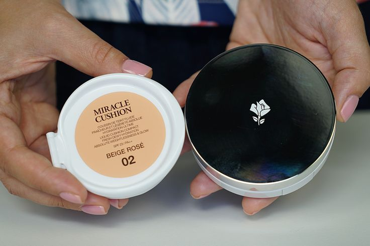 Un singur produs pentru trei tipuri de makeup: Lancome Miracle Cushion review on Beauty First http://www.beautyfirst.ro