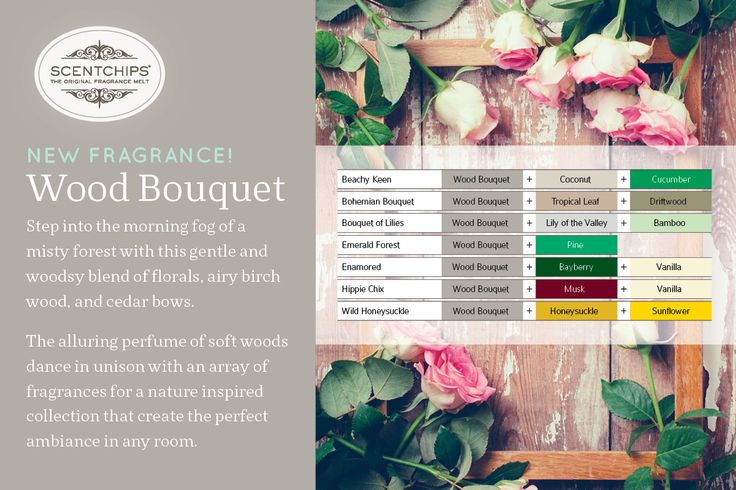 #woodbouquet www.scentchips.co.nz. Choose from any of the above