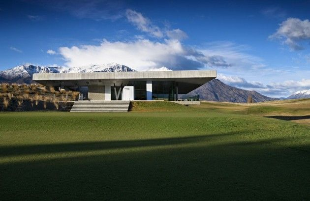 Simply Awesome | Patterson Associates designed the Michael Hill Clubhouse in Arrowtown, New Zealand.
