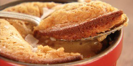 Molten Caramel Cakes: Molten Caramel, Fazer Deliciosos, Cauliflower Cookie, Molten Cakes, Cakes Recipes, Dumplings, Twelve, Caramel Cakes
