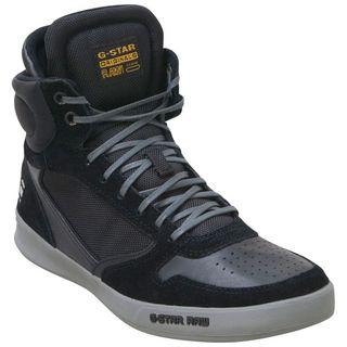 Buy Black G-Star Men\u0027s Yard Pyro Suede GS52459 High-Top Sneaker shoes