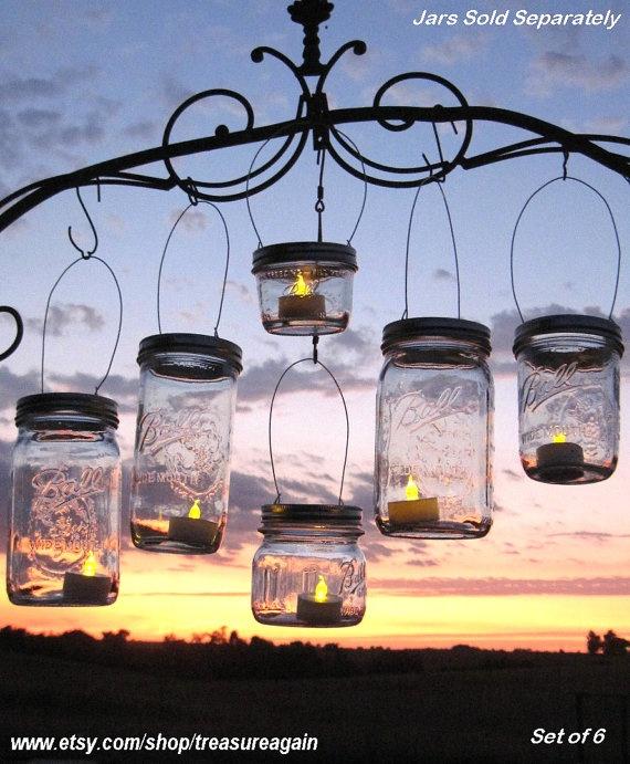 DIY Party Lanterns 12 Wide Mason Jar Hangers For Wedding