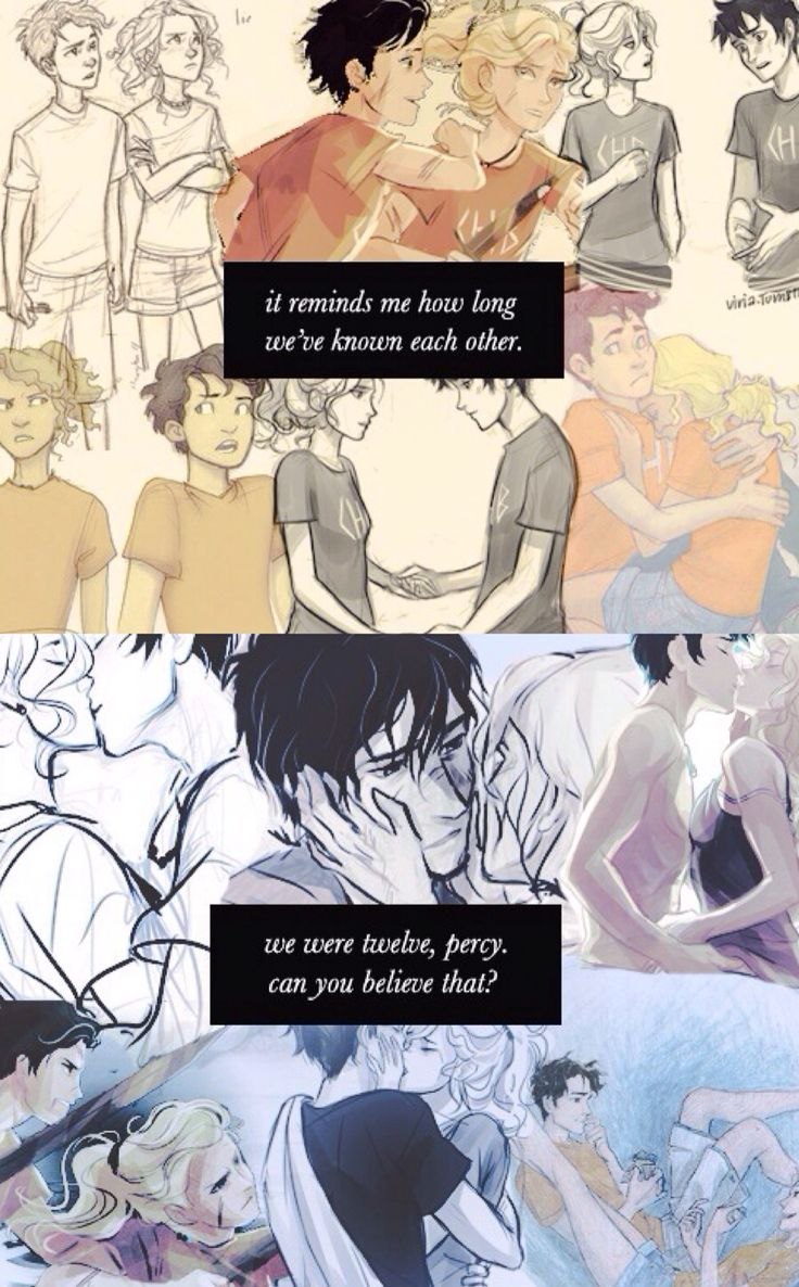 Percabeth. Feels. Crying. (In that order!)