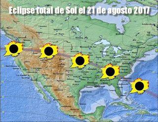 Blog de palma2mex : Eclipse total de Sol el 21 de agosto donde verlo m...