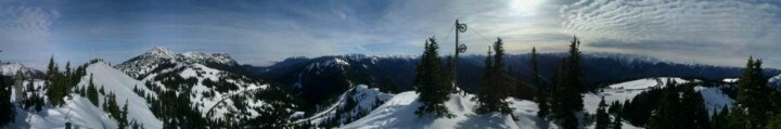 I live on the side of this Mountain. Hurricane Ridge in the Olympic National Park near Port Angeles WA USA