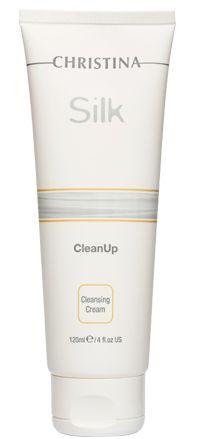 SILK CLEANUP Очищающее средство, 120 мл Мягкое кремообразное очищающее средство эффективно удаляет загрязнения, увлажняет кожу, не раздражая и не пересушивая ее. Препарат может использоваться для снятия макияжа в области глаз.http://christinacosmetics.ru/shop/silk/ #NickOl #NickOl_Russia #Care #Skin #Skin_care #Beauty #Cosmetics #Cosmetology #Cosmetologist #Beauty #Beauty_care #Face #Face_Care