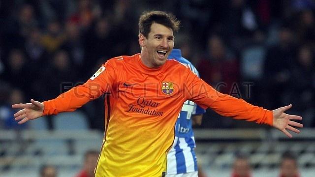Leo Messi, FC Barcelona | Real Sociedad 3-2 FC Barcelona. [2013-01-19]