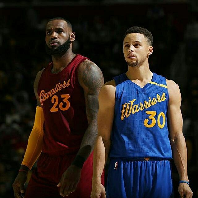 LeBron James vs. Stephen Curry --> Playoff finals /// #lebron #james #steph #curry #NBA #nba #east #weast #coast #cliveland #cavaliers #golden #state #warriors #23 #30 #best #player #playoff #final