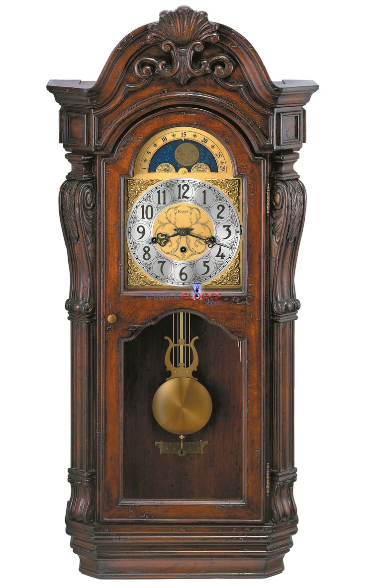 Bulova Canterbury Wall Clock Grandfather Clocks Howard Miller Hermle Clock Seth Thomas Clock Movado Clocks